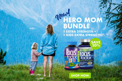 Save 20% with our HERO MOM BUNDLE - 1 Extra Strength + 1 Kids Extra Strength - Shop Now