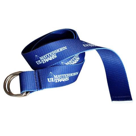 Double Buckle Nylon Belt