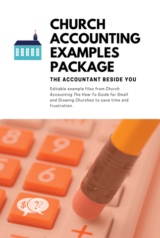 Digital File Church Accounting  The How-To Guide-Example Package