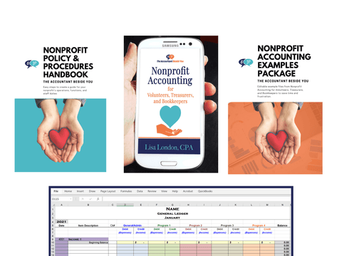 Bundle e-Book Nonprofit Accounting Bundle for Your Small Nonprofit