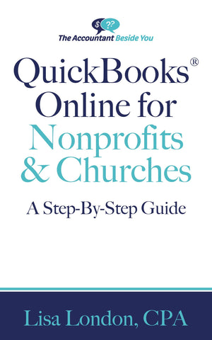 Book E-Book QuickBooks Online for Nonprofits & Churches- A Step By Step Guide