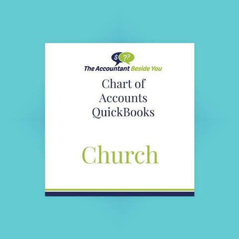Chart of Accounts For Pro, Premier, Nonprofit Church Chart of Accounts - QuickBooks