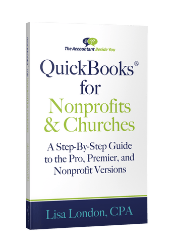 Book Paperback QuickBooks for Churches and Nonprofits