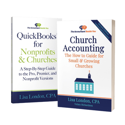 Bundle Paperbacks QuickBooks for Churches & Church Accounting-2nd Edition Book Bundle