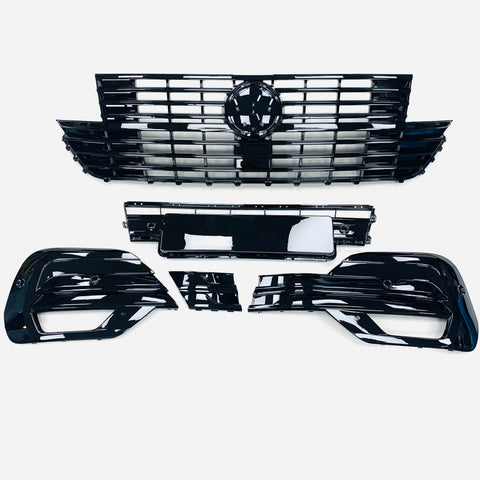 T6.1 Upper and lower Grilles Gloss Black ABS