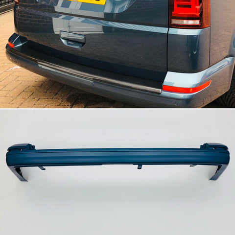 T6 Tailagte Rear Bumper Primed Premium Quality Transporter 15 Onwards