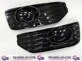 T5.1 Front & Rear Smooth Primed Bumpers, Lower Spoiler, DRL Kit, Fog Kit 10 -15