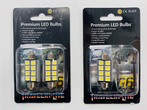 T5 T5.1 T6 T6.1 CREE 8xLED Interior Lights (multi-buy saving)