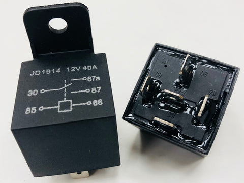 12V 40amp Relay 5 Pin