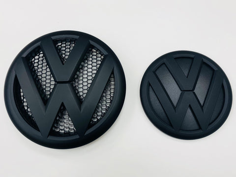 T5.1 Front & Rear Badges (MATTE BLACK)