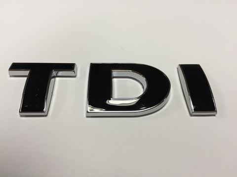T5 Caddy TDI Badge - Black & Chrome Edge