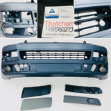 T5.1 Front Bumper Smooth Primed (with inserts)