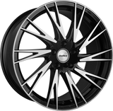 "CALIBRE STORM 20"" WHEEL & TYRE PACKAGE (BLACK/POLISHED)"