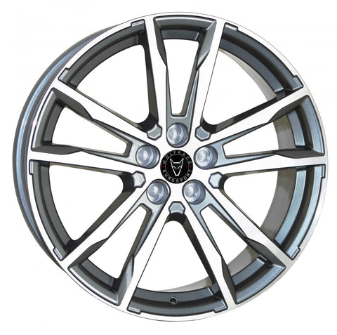 "WOLFRACE DORTMUND 20"" WHEELS (GUNMETAL POLISHED)"