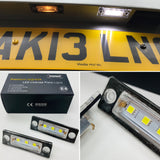 LED License / Number Plate Light Units