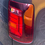Caddy Rear Lights Genuine Tinted RHD Pair Upgrade To 2015 Onwards Style