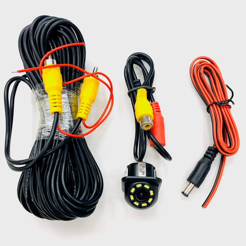 Reversing Camera HD CMOS 8 LED Night Vision IP68 Waterproof 10 Meters Harness