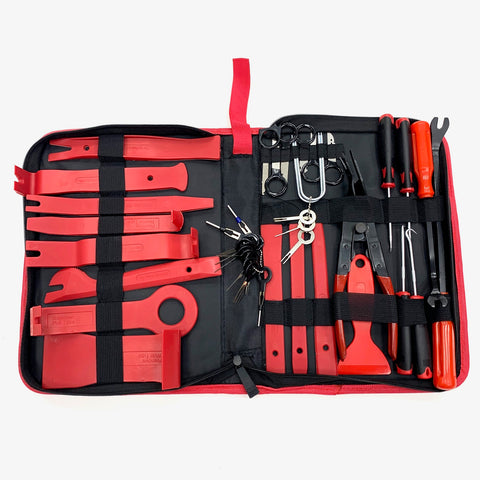 41pcs Trim Removal Set & Case Great Quality Car Van Truck UK SELLER