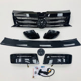 T5.1 Transporter Carbon Fibre Style Package Grille Mirror DRL Rear Protector