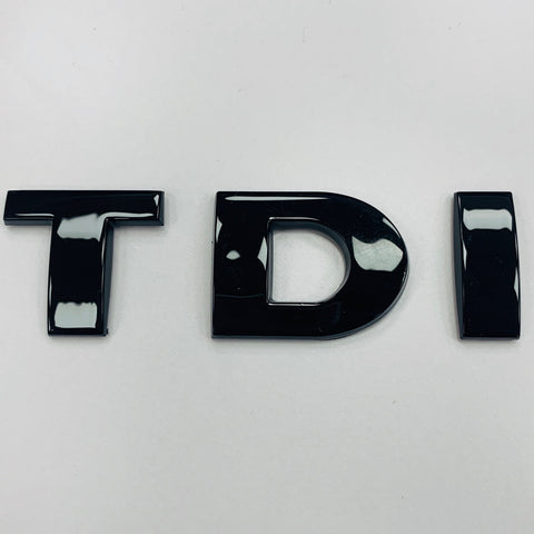 TDI Gloss Black Badge VW Transporter T5 T5.1 T6 Caddy Brand New