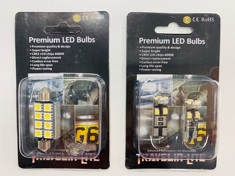 T5 T5.1 T6 Map Reading Interior LED & Main Light LED