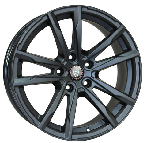 "Wolfrace Dortmund 18"" wheel and tyre package Matte Black"