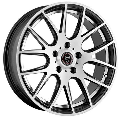 "WOLFRACE MUNICH 20"" WHEELS (GLOSS BLACK POLISHED)"