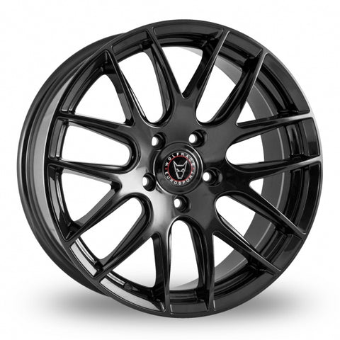 "T5 T5.1 T6 Wolfrace 18"" Munich Alloy Wheels & Tyre Package (BLACK)"