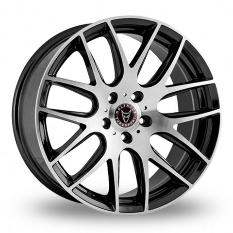 "WOLFRACE MUNICH 20"" WHEEL & TYRE PACKAGE (BLACK & POLISHED)"