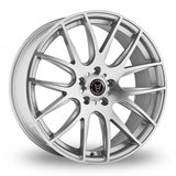 "WOLFRACE MUNICH 20"" WHEEL & TYRE PACKAGE (SILVER & POLISHED)"