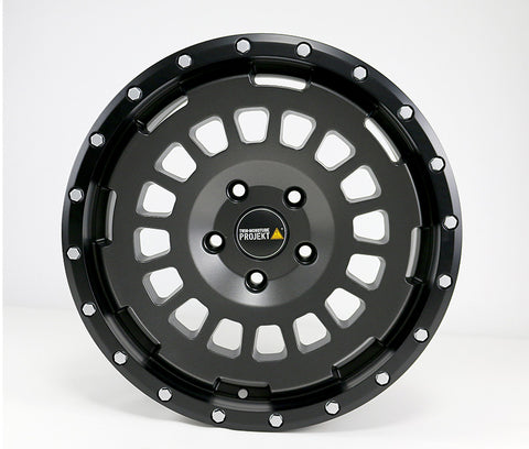 17″ TWIN MONOTUBE PROJEKT AT SWAMPER WHEEL STONE X 4