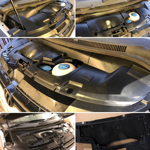 T5 1 Engine Cover & Battery Cover incl  all fixings)