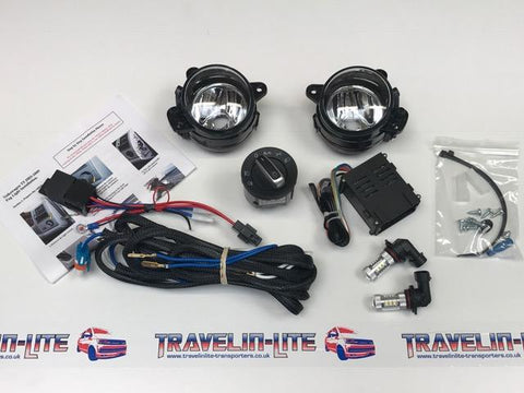 T5 Led Fog Light Kit & Auto Headlight Switch