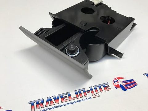T5 Genuine Cup Holder Complete Unit 12V Replacement 03 - 15 Brand New