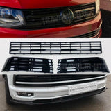 T6 Gloss Black Grille & Badge, Lower Grille 3pcs, Splitter Styling Kit NEW