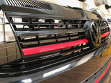 T6 Front Grille Gloss Black / Red Edition & Badge