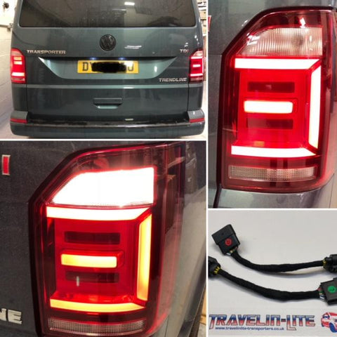 T6 Genuine LED Rear Lights Smoked with Plug & Play Harness