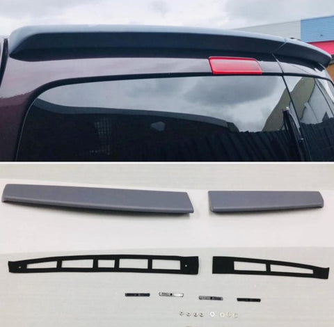 Caddy & Maxi Twin Rear Spoiler Perfect Fitment PU Plastic 05-19 Great Quality