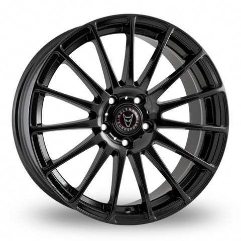 "WOLFRACE TURISMO 18"" WHEEL & TYRE PACKAGE (BLACK)"