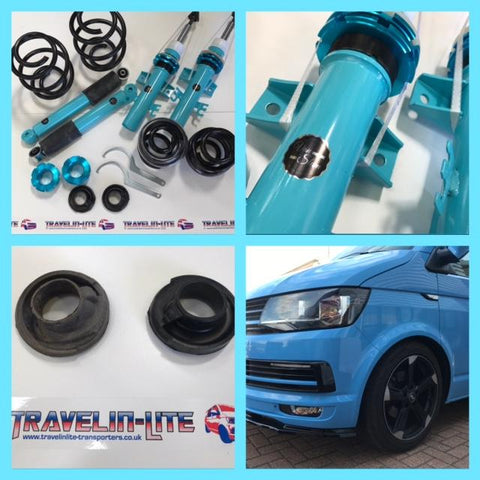 T5 T6 5Forty Van Slam Coilover Suspension Kit T28>T30 & T32 variants available