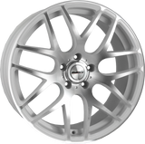 "CALIBRE EXILE-R 20"" WHEEL & TYRE PACKAGE (WHITE/POLISHED)"