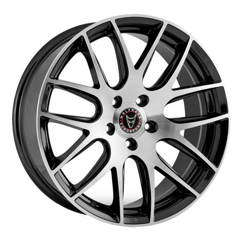 "WOLFRACE MUNCIH 20"" WHEEL & TYRE PACKAGE (GLOSS BLACK POLISHED)"