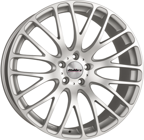"CALIBRE ALTUS 20"" WHEEL & TYRE PACKAGE (MATTE SILVER/MATTE POLISHED)"