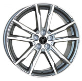"Wolfrace Dortmund 20"" wheel & tyre package (Gunmetal & polished)"