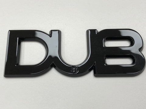 Dub Edition Badge Black (T5 T5.1 T6 Golf GTi)
