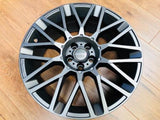 "MOMO 20"" REVENGE ALLOY WHEEL PACKAGE GUNMETAL FOR T5 T5.1 T6"