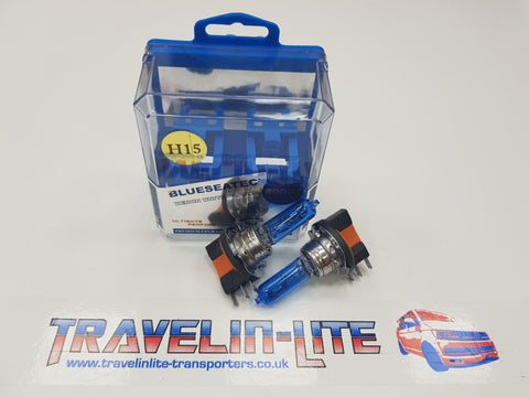 T5.1 Sportline Caravelle H15 DRL Headlight Upgrade Bulbs (super white)