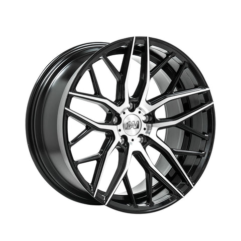 "Transporter 1AV ZX11 20"" wheels only Black / Polished"