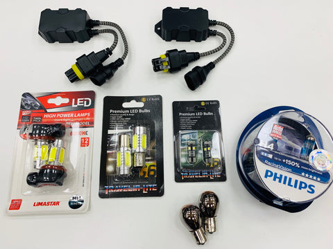 T6 headlight & LED fog bulb upgrade kit (Philips racing vision)