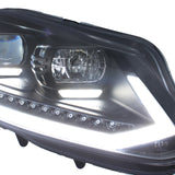 VW Caddy DRL headlights with dynamic indicators 10-15